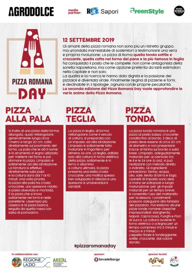 Pizza Romana Day